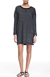 Dolman Sleeve Terry Dress