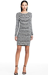 Long Sleeve Striped Dress