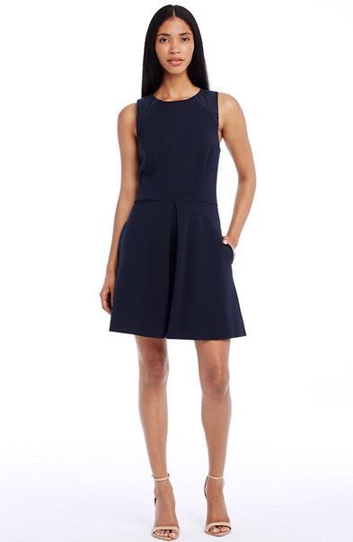 Stitched Ponte Dress