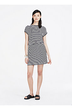 Corded Jersey Dress