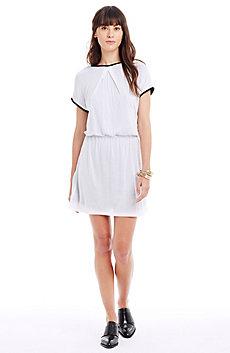 Corded Jersey Dress
