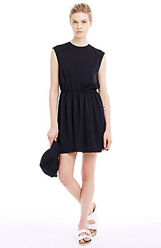 Fluid Fit & Flare Dress