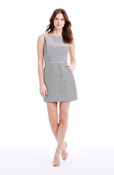 Stripe Jacquard Dress