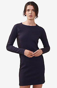 Textured Pieced Bodycon