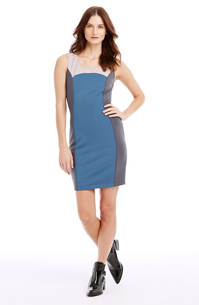 Colorblock Bodycon