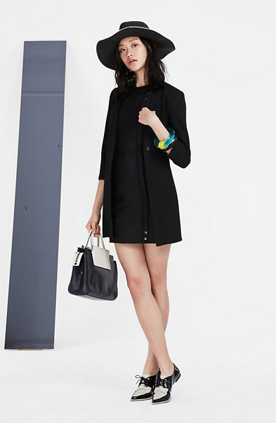 Moto Sheath Dress