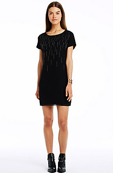 Embellished Tee Dress