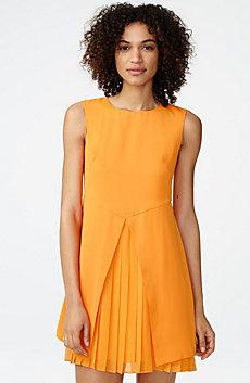 Layered Pleat Dress