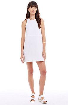 Textured A-Line Dress