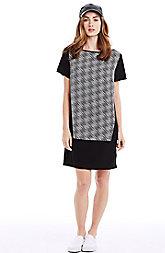 Geometric Tee Dress
