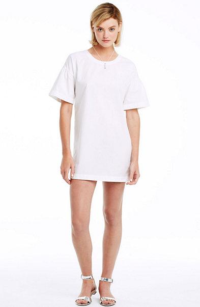 Bell Sleeve Cotton Tee Dress