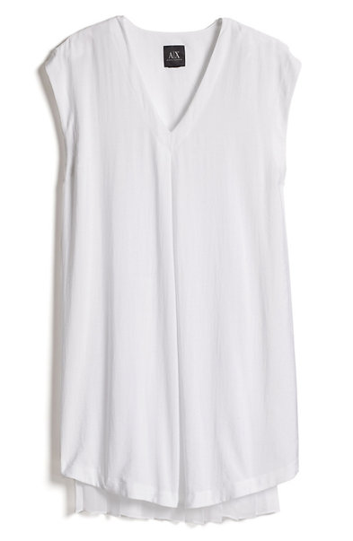 Pleat Detail Shirtdress