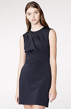 Asymmetrical Draped Sheath