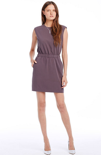 Crepe Tunic Dress
