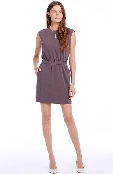 Crepe Tunic Dress
