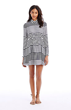 Mix Stripe Dress