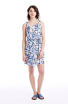Cascade Sleeveless Dress