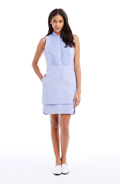 Ottoman Bib Shirtdress