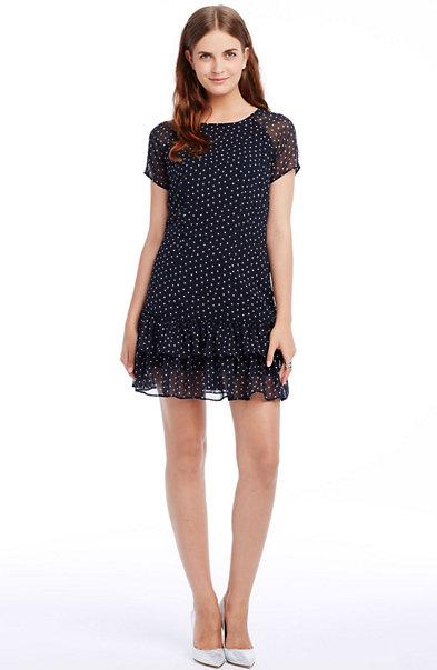 Short Sleeve Tiered Dress