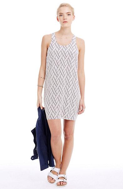 Silk Tank Dress