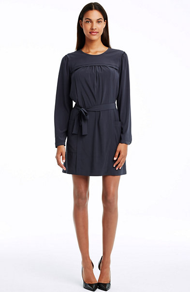 Gathered Yoke Tee Dress