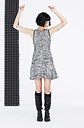 Tweed Flounce Dress