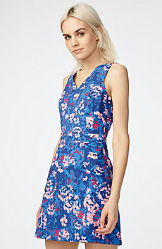 Pop Art Floral Dress