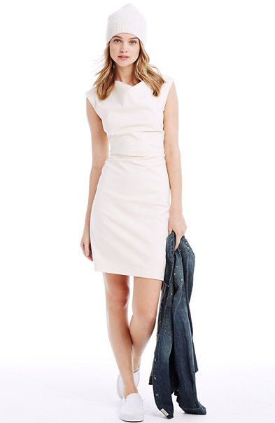 Side Pleat Bodycon
