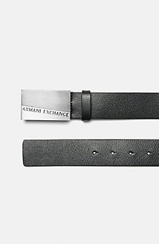 Colorblock Logo Belt
