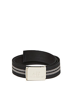 Elastic Stripe Belt
