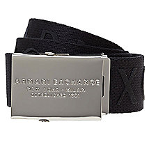 Logo Engraved Belt