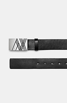 Linear A|X Placque Belt