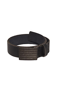 Stacked Leather Belt