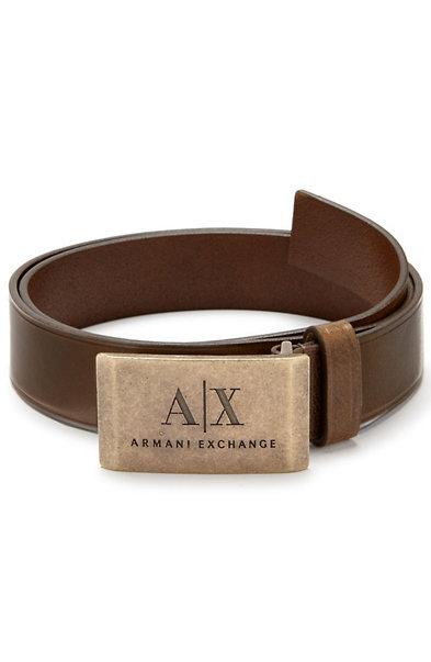 A|X Metal Plaque Belt