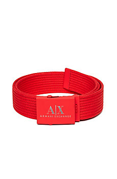 Rubber Plaque Web Belt
