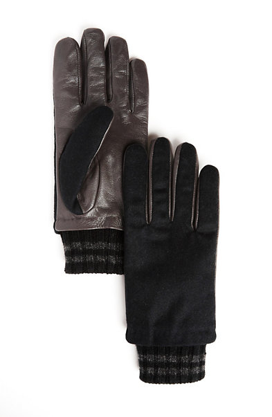 Leather Blend Glove