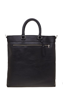 Leather Messenger Tote<br>Online Exclusive