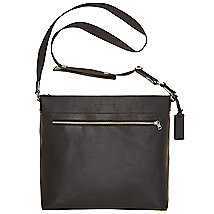 Leather Messenger Bag<br>Online Exclusive