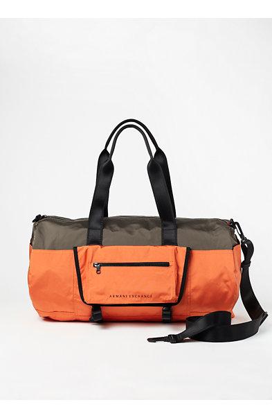 Colorblock Duffel Bag