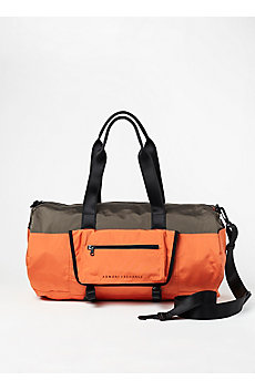 Colorblock Duffel Bag