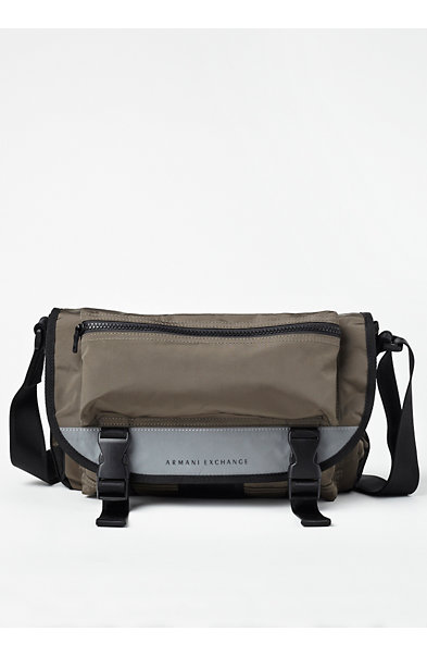 Reflective Mini Messenger Bag