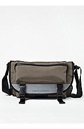 Reflective Mini Messenger Bag