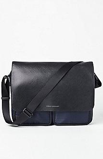Nylon Logo Messenger Bag
