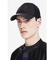 Leather Patch Baseball Hat