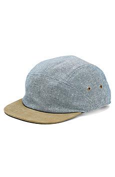 Suede Brim 5 Panel Hat