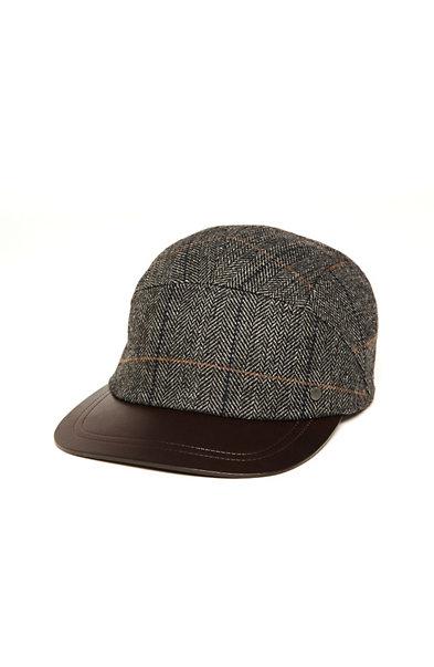 Five Panel Wool Hat