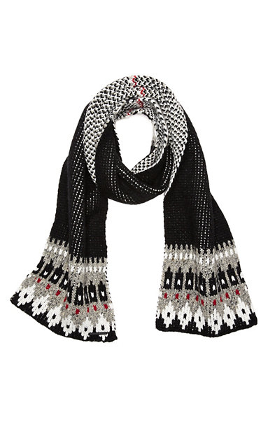 Nordic Pattern Scarf
