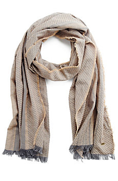 Textured Weave Scarf