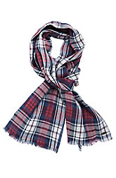 Double Plaid Scarf