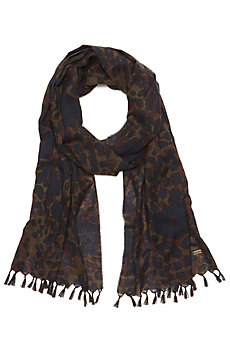Camo Cotton Scarf